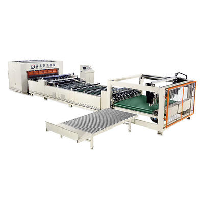 Fully automatic high-speed single facer  corrugated line cadre equipment (single knife single facer paperboard cutting machine)